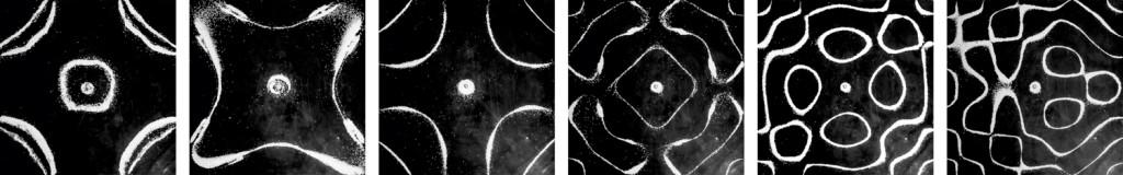 Série Desenho Sonoro, 2014  - impressão fotográfica sobre papel fine art,  50 x 50 cm (cada).