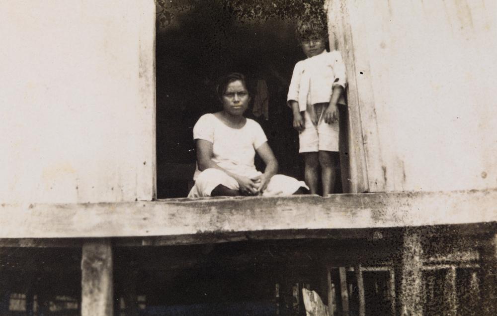 """Figura 23 – """"Margem do Solimões/ Junho – 1927/ Sobre as ondas"""" (notação no verso). Acervo do Instituto de Estudos Brasileiros da Universidade de São Paulo."""